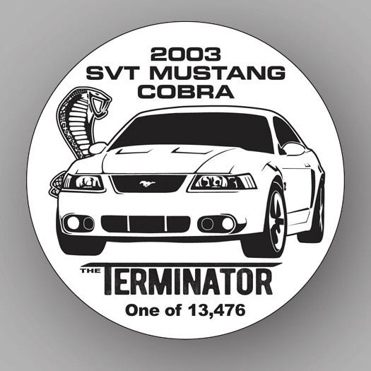 Terminator Cobra Decal