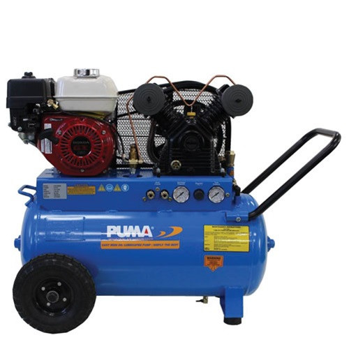 Air Compressor - 5.5 HP Gas Push Type