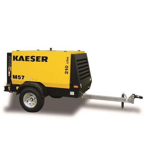 Air Compressor - 210 CFM Towable Compressor