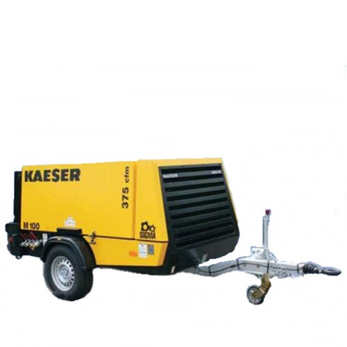 Air Compressor - 375 CFM Towable Compressor