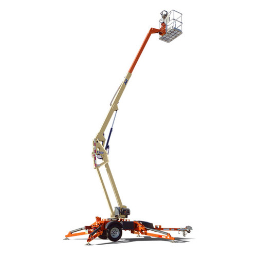 JLG 35' Boomlift, T350 towable, electric