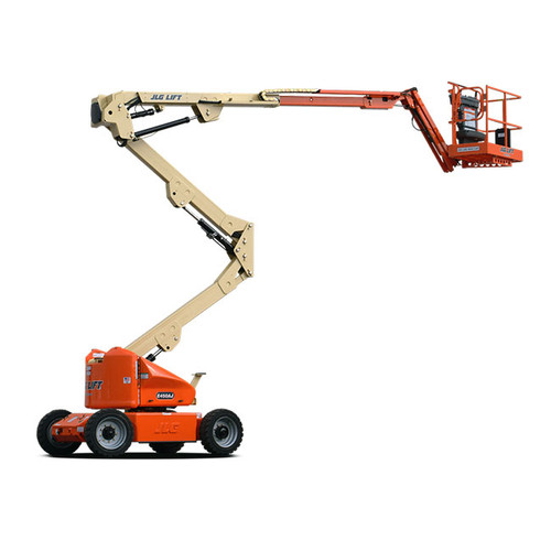 JLG 45' Boomlift, E450AJ articulating electric