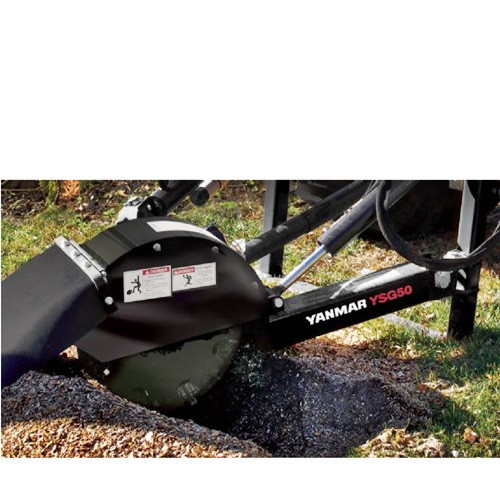 YANMAR STUMP GRINDER