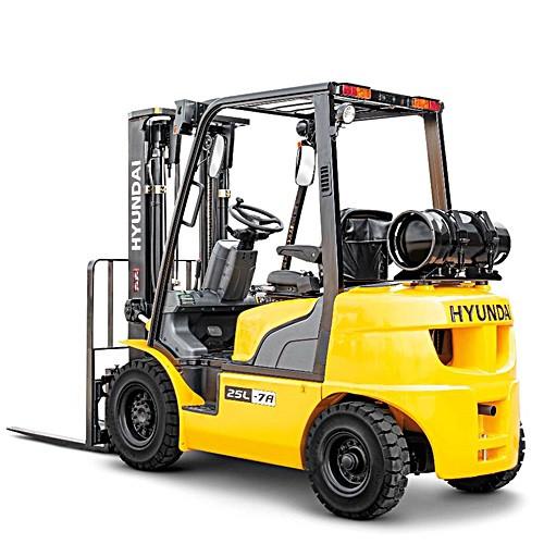 Forklift - Towmotor - Hyundai Model 25L-7  - 5000lb.