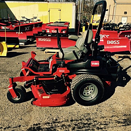 "2016 Z MASTER 6000 My-RIDE Zero Turn Riding Mower - 60"" Deck"
