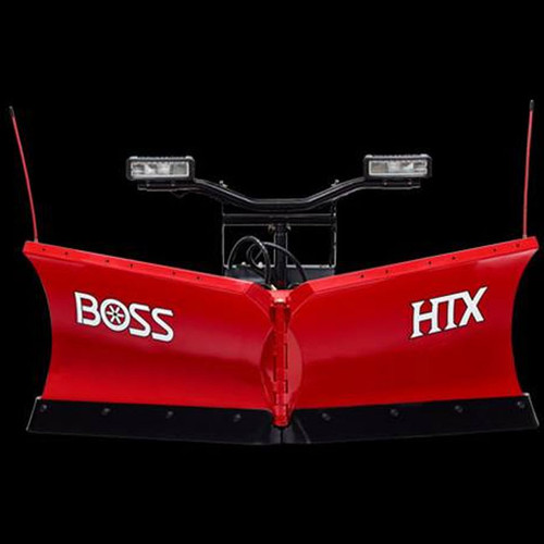 "Boss 7'6"" HTX-V Steel Snowplow"