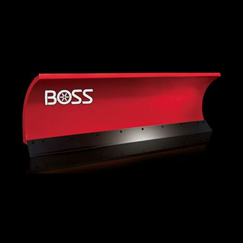 "Boss 7'6"" Standard-Duty Steel Snowplow"