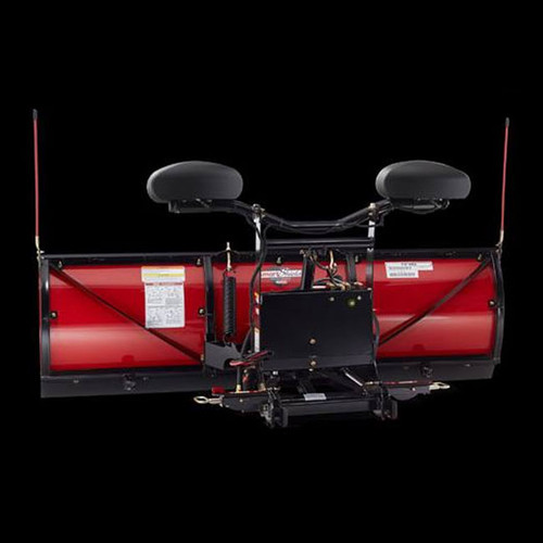 "Boss 7'6"" HTX Straight-Blade Steel Snowplow"
