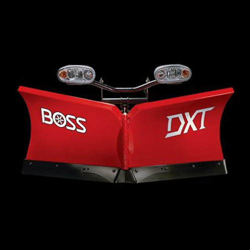 "Boss 8'2"" Steel Power-V DXT Snowplow"