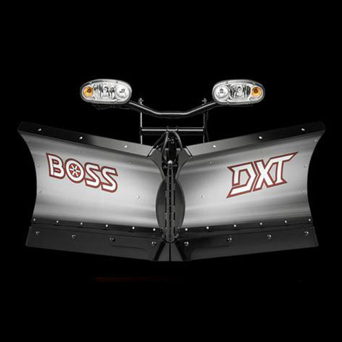 "Boss 8'2"" Stainless Power-V DXT Snowplow"