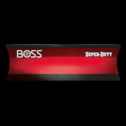 "Boss 7'6"" Poly Super Duty Straight-Blade Snowplow"