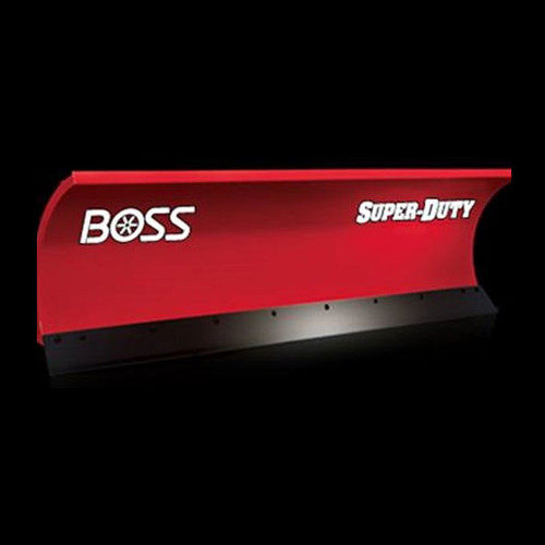 "Boss 7'6"" Steel Super Duty Straight-Blade Snowplow"