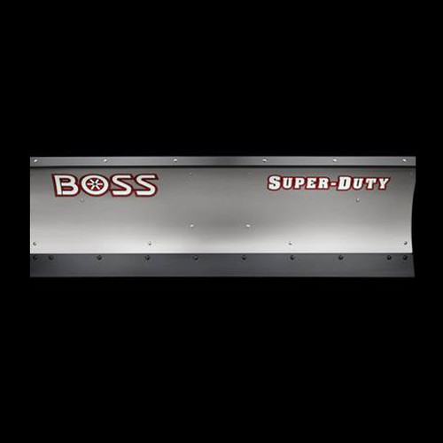 Boss 8' Stainless Super Duty Straight-Blade Snowplow