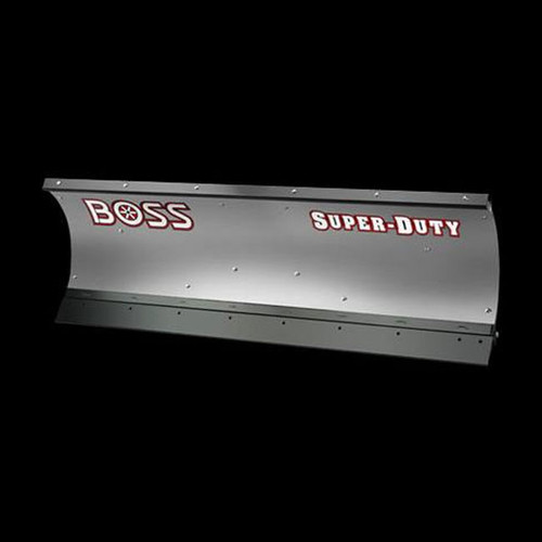 Boss 8' Stainless Trip-Edge Straight-Blade Snowplow