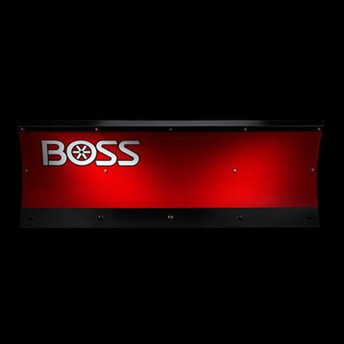 "Boss 5'0"" Poly Straight ATV Snowplow"