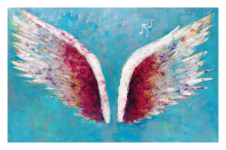 """Rock Wings"" by Colette Miller"