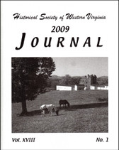 Historical Society of Western Virginia 2009 Journal