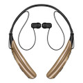 Gold LG Tone Pro HBS-750 Bluetooth Stereo Headset