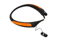 Orange LG Tone Active HBS-850 Bluetooth Headset with car charger