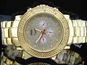 """Diamond Watch by Platinum Watch Company """"PWC"""" Jojino Joe Rodeo Style PWC-JU108"""
