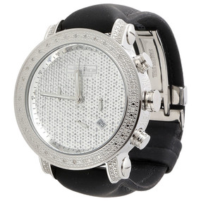 Mens JoJo Treasure JoJino Joe Rodeo .36 Ct Diamond Watch Illusion Dial 46mm JTR4
