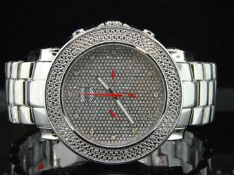 """Diamond Watch by Platinum Watch Company """"PWC"""" Jojino Joe Rodeo Style PWC-JU103"""