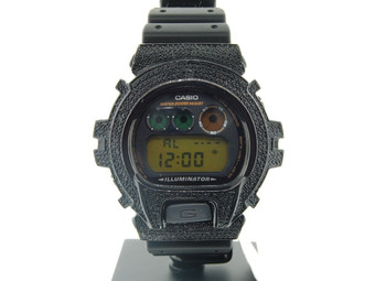 G-SHOCK/G SHOCK 12 BLACK DIAMOND CUSTOM BEZEL JOE RODEO WATCH RUBBER BAND