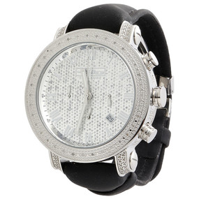 Mens JoJo Treasure JoJino Joe Rodeo 0.36 Ct. Diamond Watch Roman 46mm Dial JTR27