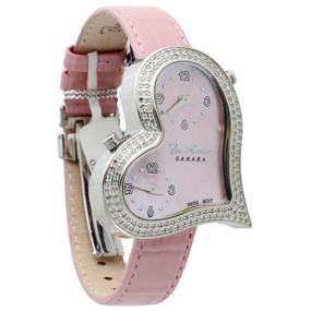 Joe Rodeo Womens Diamond Heart Watch JoJo 1.40 ct. Sahara JRS1