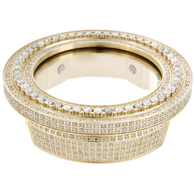 Gucci Diamond Bezel and Case Ladies Gold Steel for I Gucci Digital Watch 3 ct.