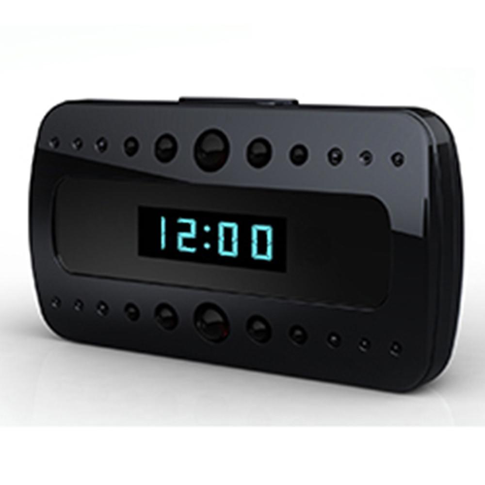 Hidden cam alarm clock
