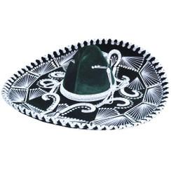 Sombrero Charro de Terciopelo Decorado - RRIMP-71152