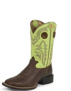 Tony Lama Men Boots - 3R Collection - Auburn Mustang - RR1108