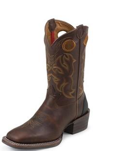 Tony Lama Men Boots - 3R Collection - Dark Dakota Sequoia - RR9009