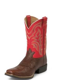Tony Lama Men Boots - 3R Collection - Peanut Shoulder Grain - RR1103