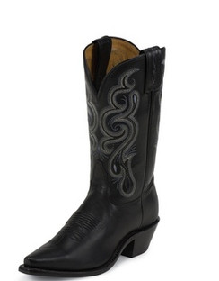 Tony Lama Women Boots - Americana Collection - Black Stallion - RR7912L