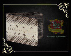 Los Altos Boots - Original Watersnake Skin  Wallet