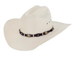 Larry Mahan - Straw Hat -10X - Oplin N