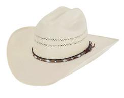 Larry Mahan - Straw Hat -10X - Brindle N