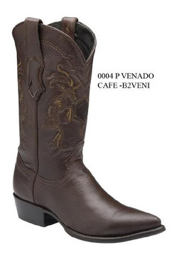 Cuadra Boots - Deer Leather - J Puntal Toe - Brown - RRB2VENIBW