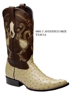 Cuadra Boots - Full Quill Ostrich - Chihuahua Toe - Orix