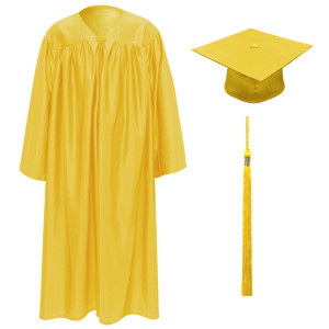 Gold Little Scholar™ Cap, Gown & Tassel + FREE DIPLOMA