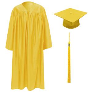 Gold Little Scholar™ Cap, Gown & Tassel + FREE DIPLOMA