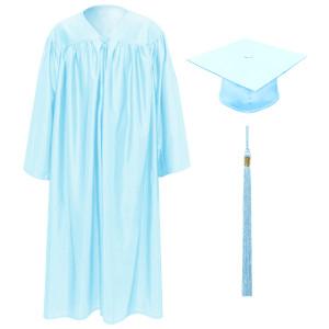 Light Blue Little Scholar™ Cap, Gown & Tassel + FREE DIPLOMA