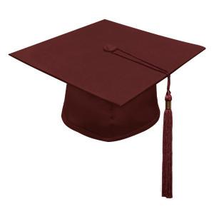 Maroon Little Scholar™ Cap & Tassel