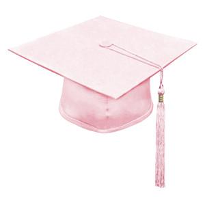 Pink Little Scholar™ Cap & Tassel