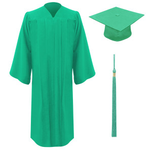 Emerald Executive™ Cap, Gown & Tassel