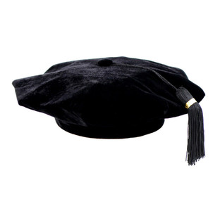 DOCTOR Executive™ Velvet Tam with Stubby™ Tassel
