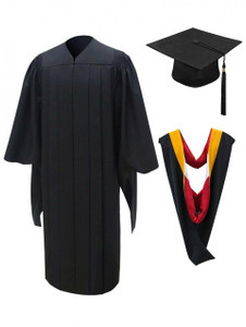 MASTER Finest Quality™ Cap, Gown, Tassel & Hood