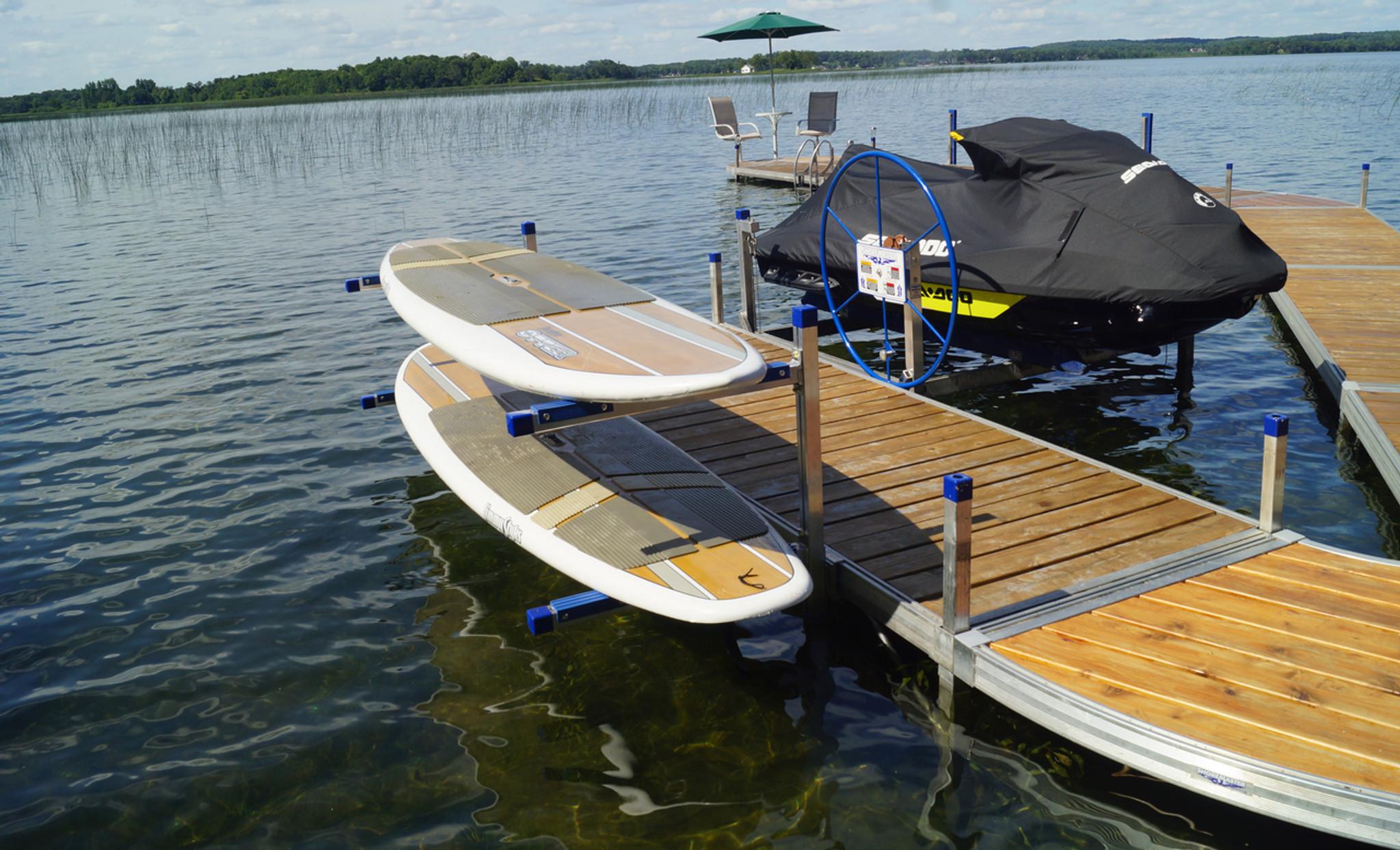 Qc Paddleboard Kayak Rack The Shore Shack